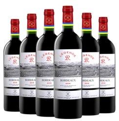 拉菲 Lafite 红酒/白葡萄酒  法国进口干红/干白葡萄酒 拉菲传奇波尔多 750ml*6瓶 整箱