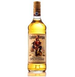 【我买网自营】摩根船长原创金牌调味朗姆酒(瓶装 700ml)