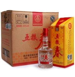 五粮春 35度 整箱特惠装白酒 500ml*6 浓香型