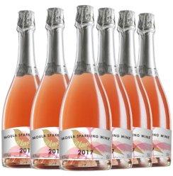 慕拉(MOULA)冰酒 莫斯卡托起泡酒 清新女士少女气泡酒甜型草莓起泡酒 750*6支