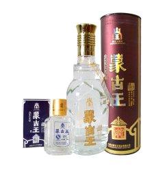内蒙古蒙古王44度帝尊精品红圆桶 浓香型纯粮草原白酒
