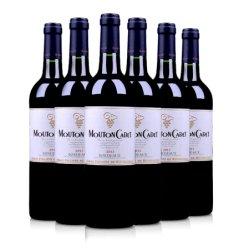 法国红酒套装木桐嘉棣红葡萄酒750ml(又名:法国木桐嘉隶红葡萄酒750ml)(6瓶装)