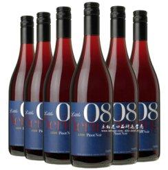 乐豁 澳大利亚进口 小优伶黑皮诺干红葡萄酒6支装