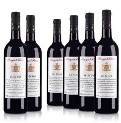 澳大利亚洛伊斯达梅洛BIN168整箱干红葡萄酒750ml (6支装)