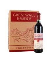长城(GreatWall)红酒干红葡萄酒 出口型宝石解百纳红酒果酒整箱装750ml*6瓶