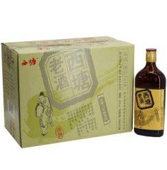 西塘老酒15°西塘花雕六年陈酿黄酒500ml*12瓶整箱价半干型黄酒