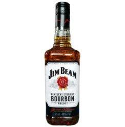 【京东超市】白占边(Jim Beam)洋酒 美国波本威士忌750ml
