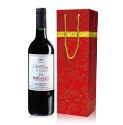 法国进口红酒巴图波尔多AOC干红葡萄酒750ml