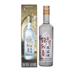 玉山台湾高粱酒三年窖藏 58度 600ml