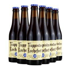 [朝华吉祥酒类专营店]比利时进口 罗斯福 ROCHEFORT 修道院啤酒 罗斯福10号 330ml*6瓶