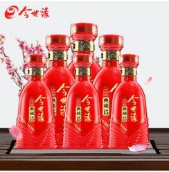 【厂家直营】今世缘41.8度浓香型白酒典藏15 500ml*6瓶整箱