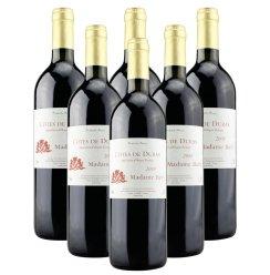 酒庄直供 法国原瓶原装进口巴菲太太波尔多AOC级干红葡萄酒750ml