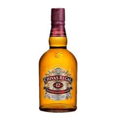 芝华士(Chivas)洋酒 12年苏格兰威士忌 350ml