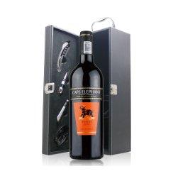 南非开普大象色拉子干红葡萄酒 带单皮盒 750ml
