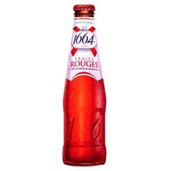 法国原装进口 1664啤酒 精酿啤酒 250ml 1664红果树莓味啤酒 1瓶