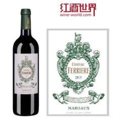 【红酒世界】 1855三级庄 2013年费里埃庄园红葡萄酒