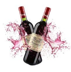拉斐 贵族城堡干红葡萄酒原装进口 750ml 2支装
