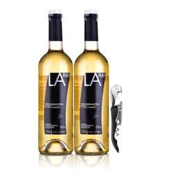 西班牙拉伊尔半甜白葡萄酒750ml*2+酒刀