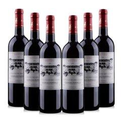 法国原瓶进口超级波尔多 圣法德斯庄园干红葡萄酒分享装750ml*6