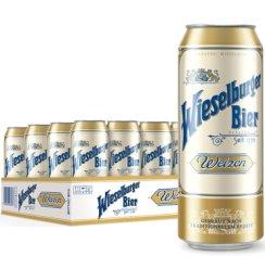 威瑟尔堡 喜力旗下小麦白啤酒  奥地利进口 500ml*24听整箱装 1770年酿造工艺