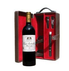 法国原瓶进口 五级酒庄 奥巴特利庄园干红葡萄酒 高级单支礼盒 750ml
