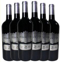 法国进口法罗芬干红葡萄酒 波尔多AOC红酒750ml 13.5%vol 银标 750ml*6瓶