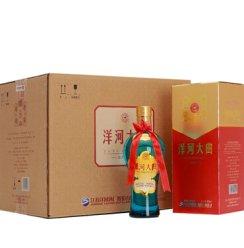 洋河大曲新天蓝42度500ml白酒浓香型酒水 整箱6瓶装