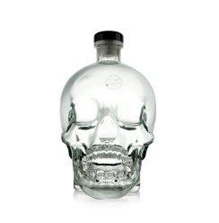水晶骷髅头 水晶头骨伏特加 加拿大原装进口 1750ml