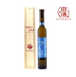 加拿大盈枫甜白银枫葡萄酒木盒装冰葡萄酒 375ml