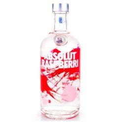 【京东超市】绝对伏特加(Absolut Vodka)洋酒 覆盆莓味伏特加酒 700ml