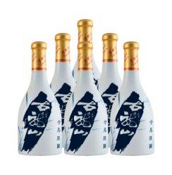 古越龙山 绍兴黄酒 二十年陈酿 半干型花雕酒 20年 500ml*6瓶整箱