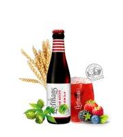 比利时啤酒 Liefmans/乐蔓啤酒 原装进口啤酒 督威荣誉出品 鲜果啤酒【250ml瓶装】 乐蔓啤酒250ml*1瓶