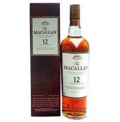 麦卡伦12年单一纯麦苏格兰威士忌(进口商品 瓶装 700...