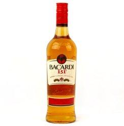 【自营】Bacrdti百加得151朗姆酒 (进口食品 瓶装 750ml)