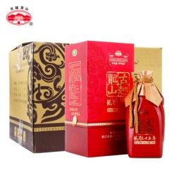 古越龙山 绍兴黄酒 花雕酒 糯米酒 龙酝十五年 500ml*6瓶整箱