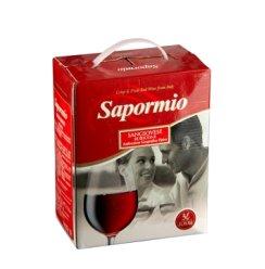 意美斯红葡萄酒盒中袋3升装