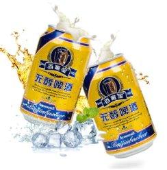 百家宝 无醇低度大麦啤酒  330ml*6听
