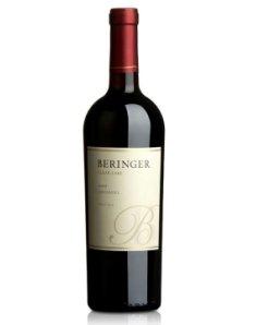 美国贝灵哲庄园镜湖仙芬黛干红葡萄酒
