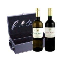 法国马蒂农古堡干白 干红双瓶装葡萄酒 750ml*2