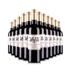 法国整箱红酒法国原瓶进口AOC传世圣蒙干红葡萄酒750ml(12瓶装)