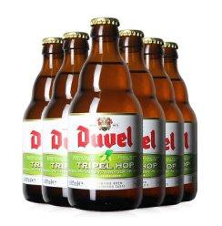 比利时进口Duvel杜威督威金色艾尔小麦王啤精酿啤酒 6瓶装杜威三花