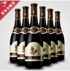 商场同款金蝴蝶干红葡萄酒西班牙红酒京东配送优选葡萄酒整箱750ml*6