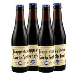 修道院啤酒 比利时进口 ROCHEFORT 罗斯福 10号330ml 4瓶