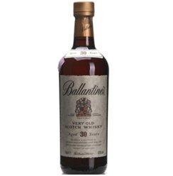 洋酒 英国Ballantine 百龄坛 30年威士忌 700ml进口洋酒
