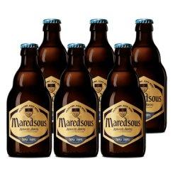《【京东自营】马里斯(Maredsous)10度 修道院啤酒 330ml*6瓶 77.2元(双重优惠)》