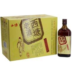 西塘黄酒12.8°西塘老酒善酿五年陈酿500ml*12瓶整箱价 半甜型黄酒