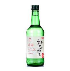 真露(Jinro)洋酒 韩国20.1度竹炭酒360ml