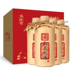 【赖锦初】酱香型白酒 私藏纯粮 纯粮食原浆酒53度整箱特价500ml*4