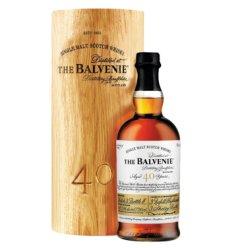 御玖轩 百富(Balveni)单一麦芽苏格兰威士忌进口洋酒正品行货 百富40年