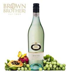 澳洲原瓶 进口红酒 布朗/布琅兄弟莫斯卡托甜白低醇葡萄酒 750ml